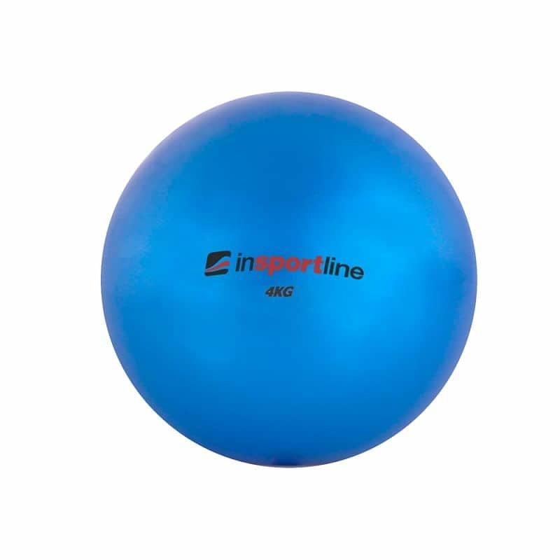 Modrý míč na jógu inSPORTline - 4 kg