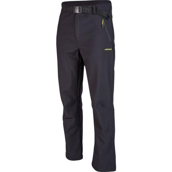 Černé softshellové pánské kalhoty Head - velikost XL