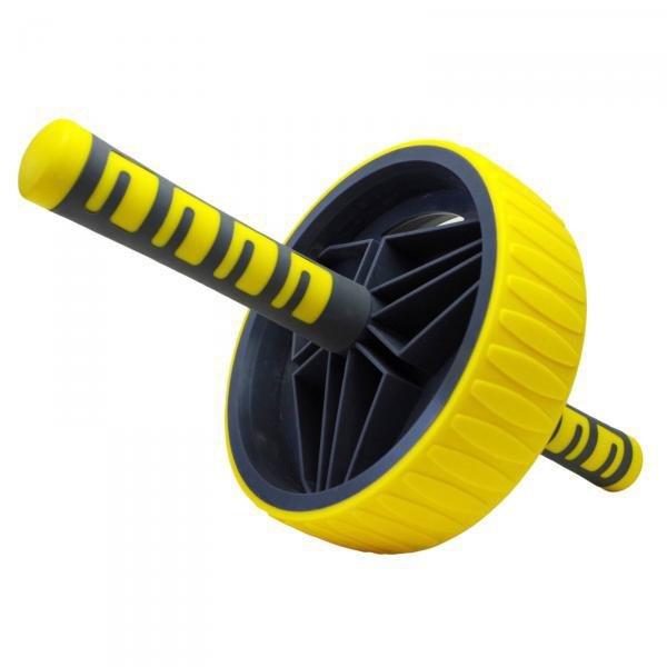 Posilovací kolečko - Posilovací kolečko AB roller Pro New Sedco žluté