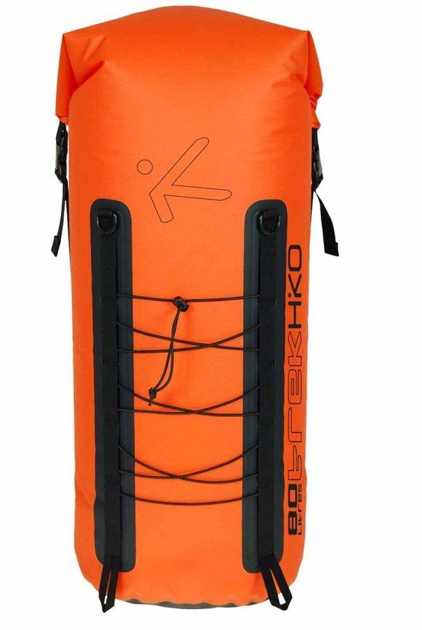 Oranžový vodácký batoh Trek, Hiko - objem 80 l