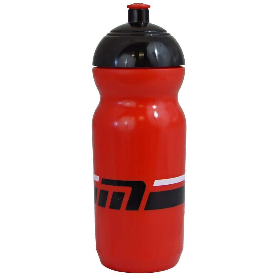 Červená cyklistická láhev na pití Maxbike - objem 0,6 l
