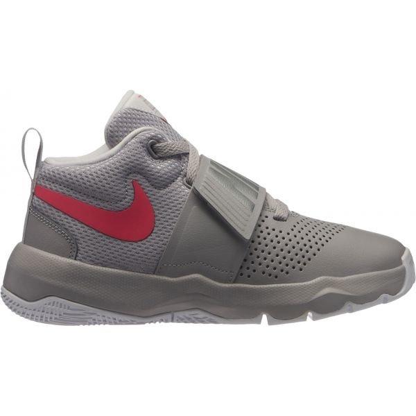 Šedé dětské basketbalové boty Nike - velikost 38,5 EU