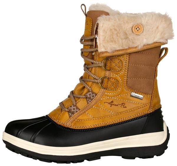 Žluté dámské zimní boty Alpine Pro - velikost 38 EU