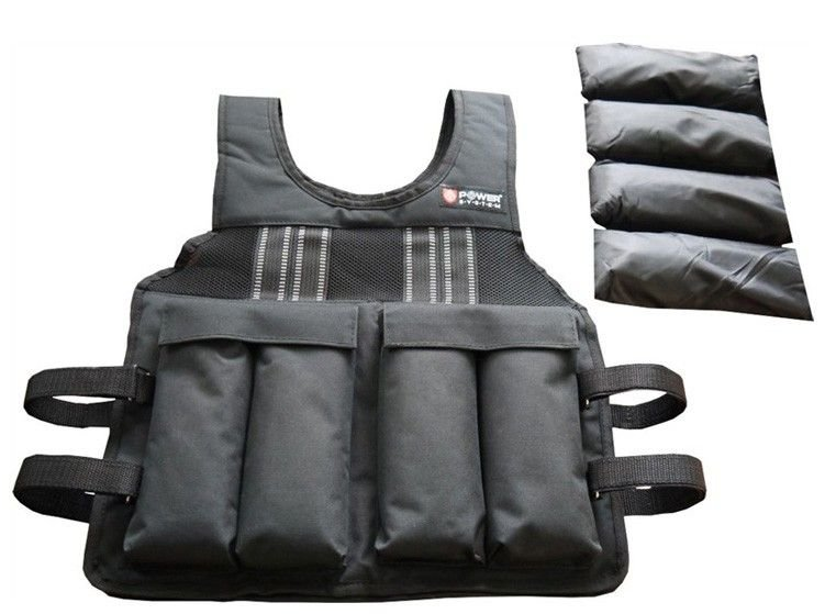 Zátěžová vesta - POWER SYSTEM Zátěžová vesta Weighted vest 10 kg
