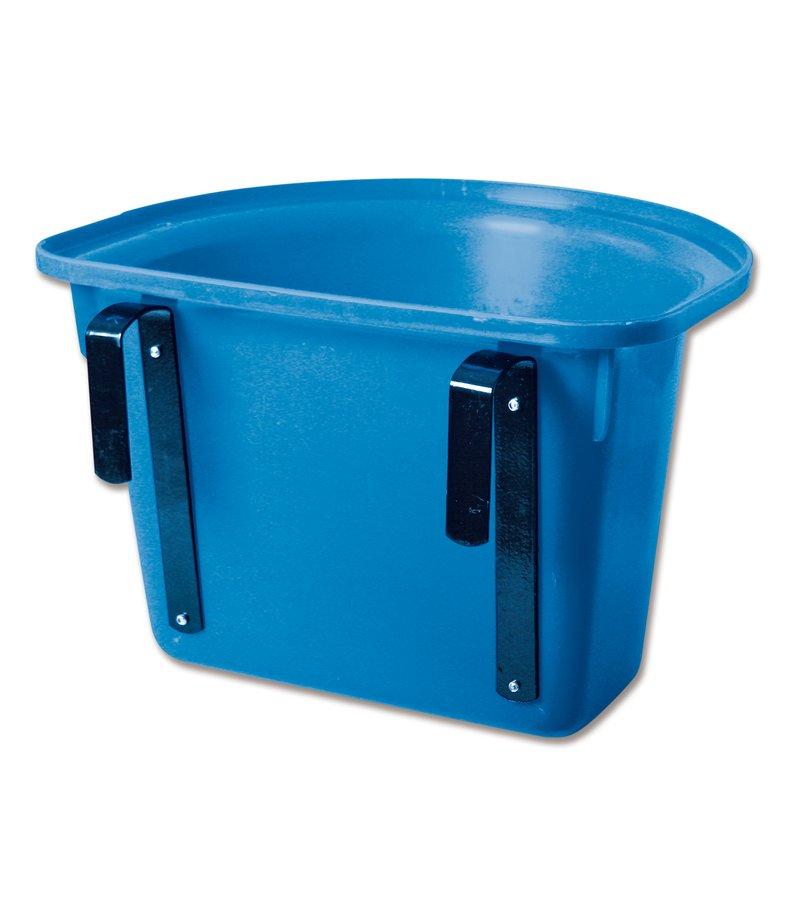 Modrý plastový závěsný přenosný žlab Waldhausen - objem 12 l