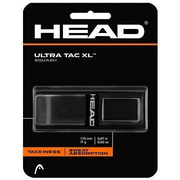 Černá squashová omotávka Head - 1 ks