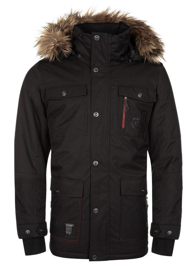 Černá zimní pánská bunda Kilpi - velikost XL