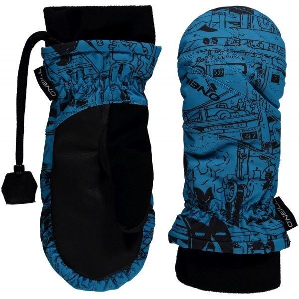 Modré dětské zimní rukavice O'Neill - velikost L