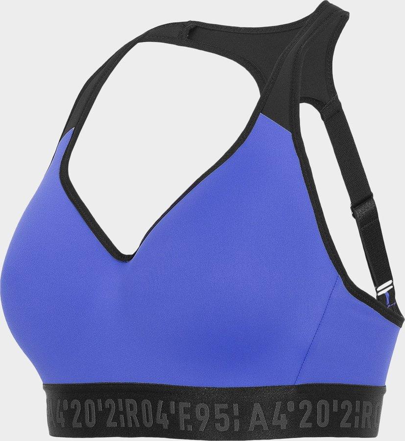 Modrá sportovní dámská podprsenka 4F - velikost S