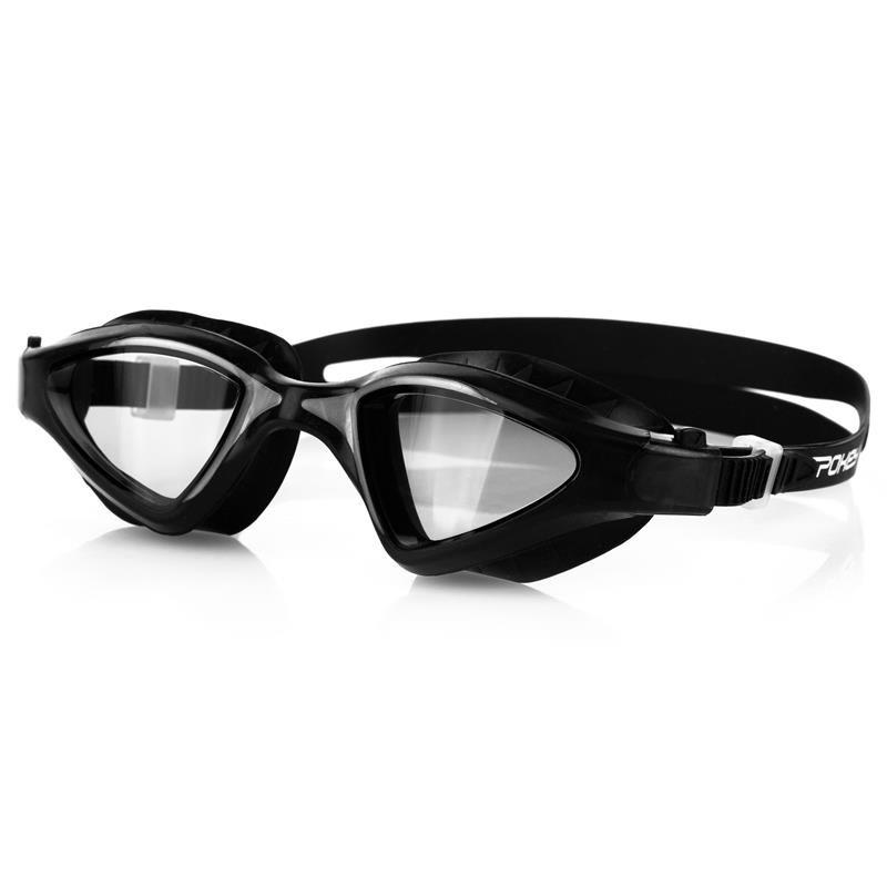 Černé plavecké brýle ABRAMIS, Spokey