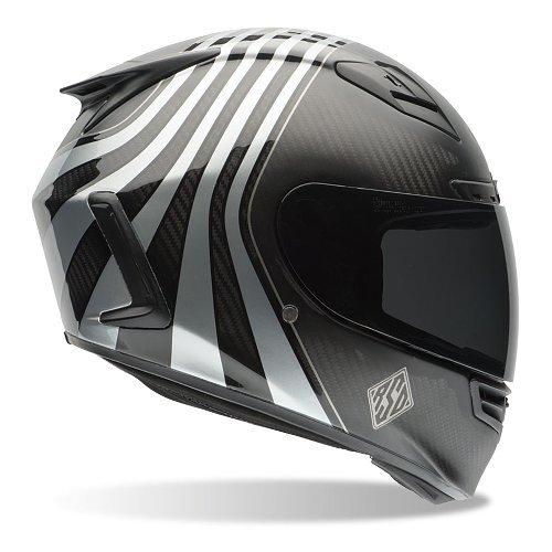 Helma na motorku Star Carbon RSD Technique, Bell - velikost 62-63 cm