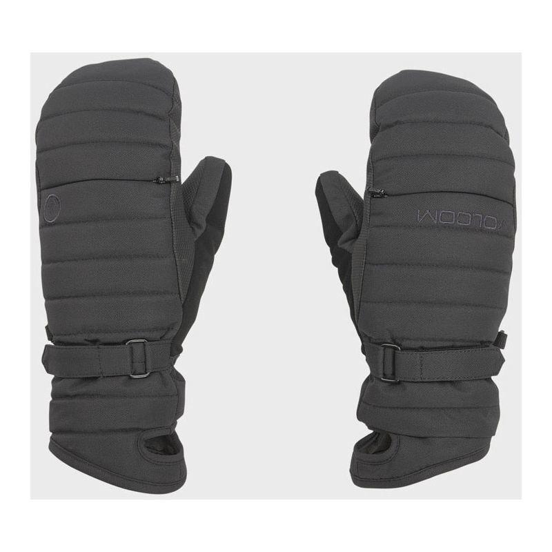 Černé zimní rukavice Volcom - velikost S