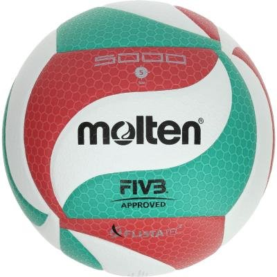 Volejbalový míč - Molten Míč Molten 5000 Zeleno-Červený