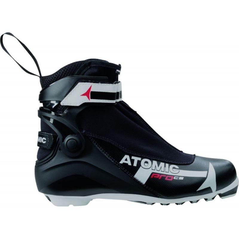 Černé boty na běžky Atomic - velikost 44,5 EU