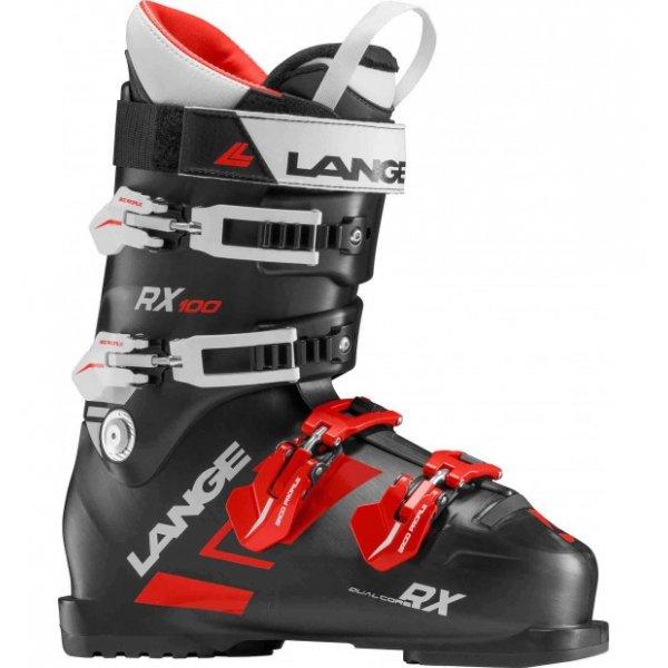 Černé pánské lyžařské boty Lange - velikost vnitřní stélky 30,5 cm