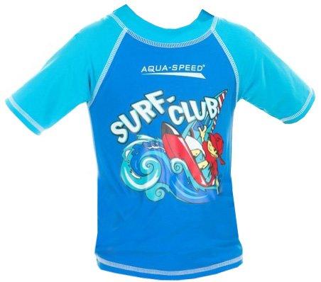 Modré dětské chlapecké tričko Aqua-Speed - velikost 3