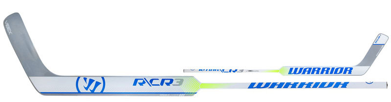 Levá brankářská hokejka (senior) RITUAL CR3 Composite, WARRIOR - délka 66 cm