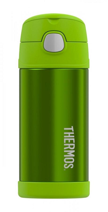 Zelená termoska Funtainer, Thermos