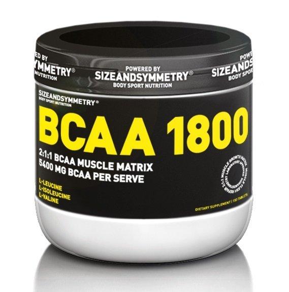 BCAA - BCAA 1800 - Sizeandsymmetry 150 tbl.