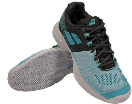 Modro-šedá dámská tenisová obuv Propulse Blast Clay, Babolat