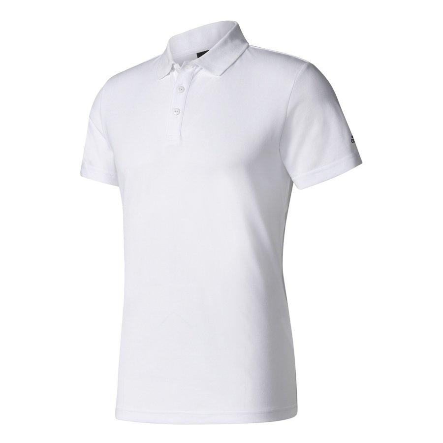 Bílé pánské tričko s krátkým rukávem Adidas - velikost M