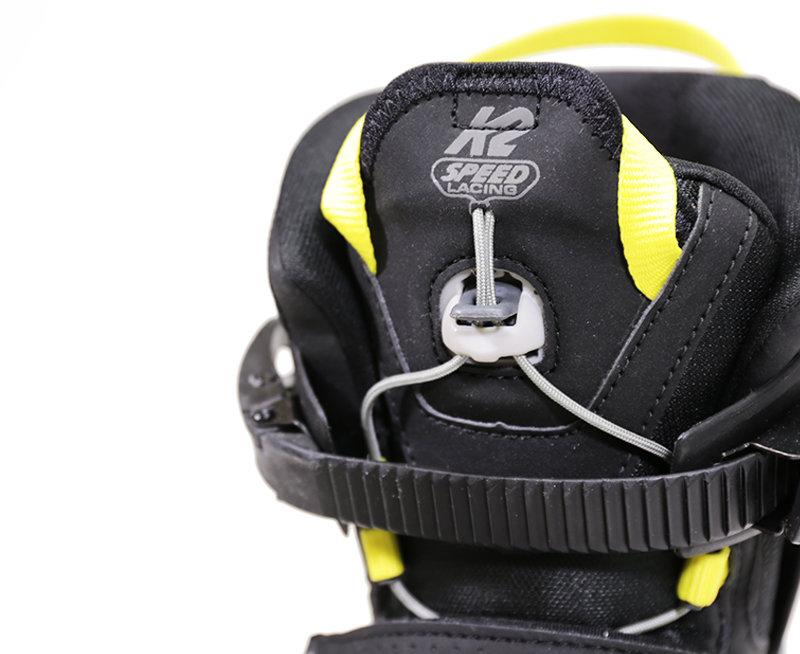 Černé pánské kolečkové brusle K2 - velikost 41,5 EU
