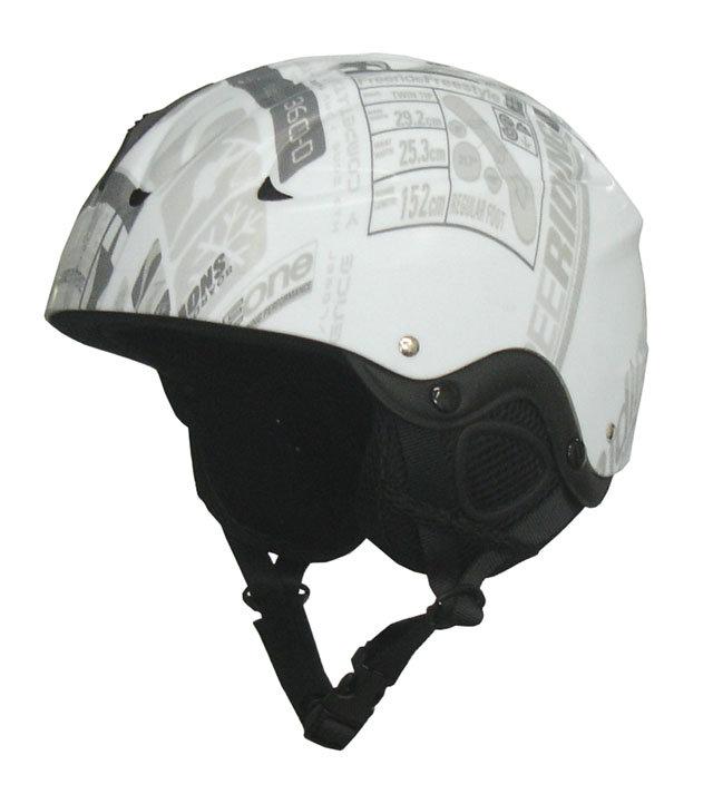 Bílá lyžařská helma CSH65, Brother