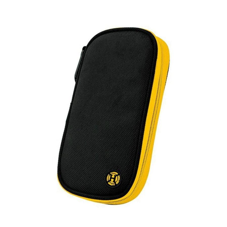 Černo-žluté pouzdro na šipky Harrows