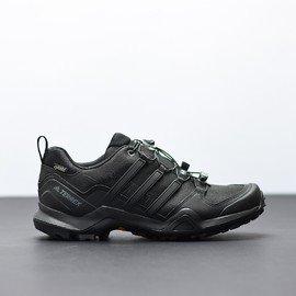 Černé voděodolné pánské trekové boty TERREX SWIFT, Adidas