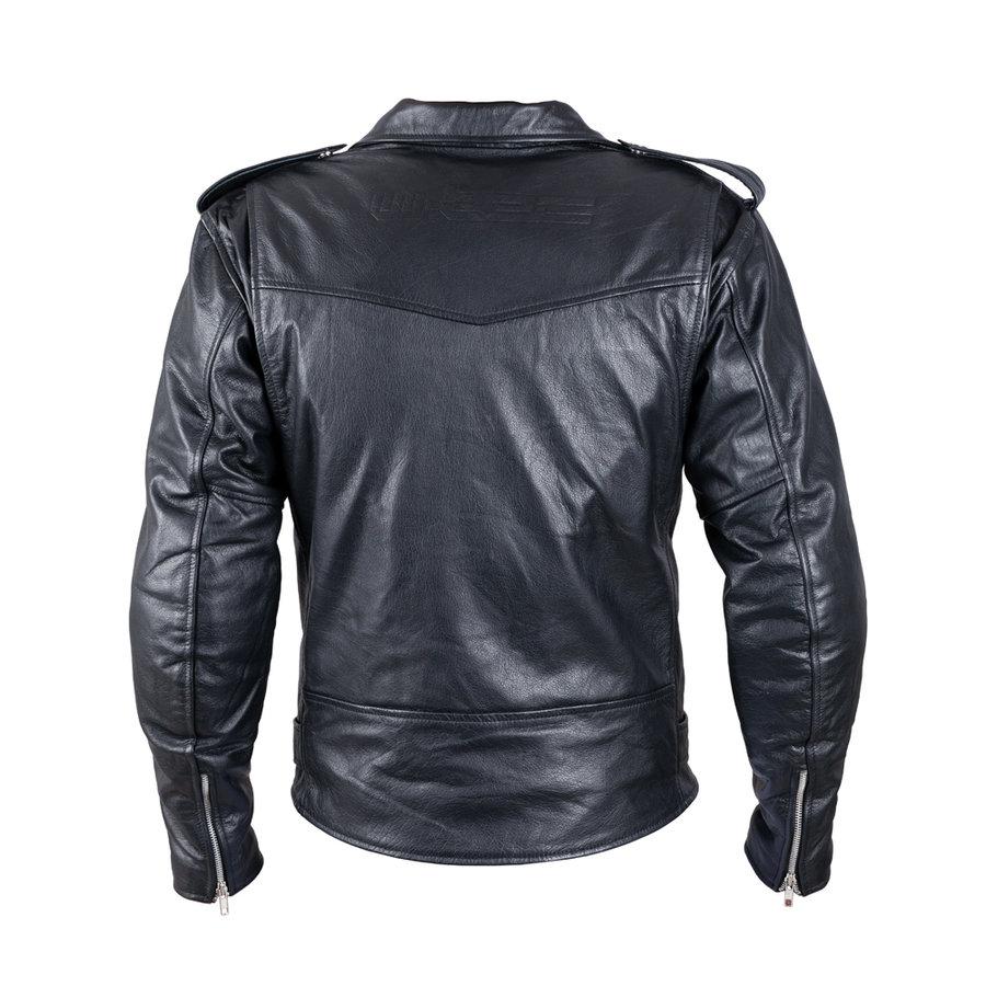 Černá pánská motorkářská bunda Perfectis, W-TEC - velikost M