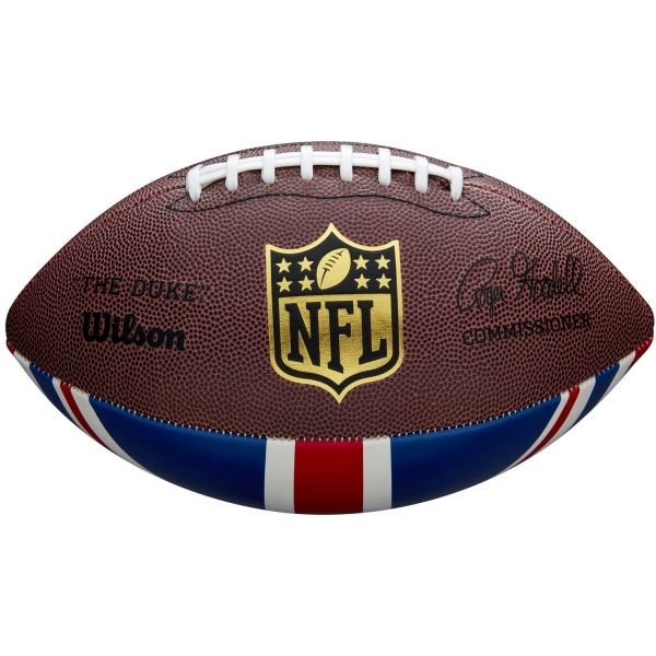 Hnědý PVC míč na americký fotbal Wilson
