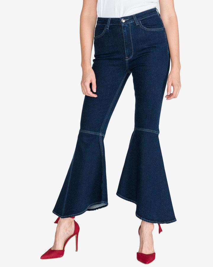 Modré dámské džíny Pinko
