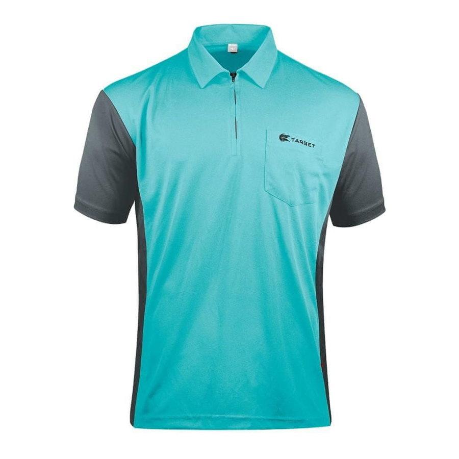 Modro-šedý šipkařský dres Target Darts