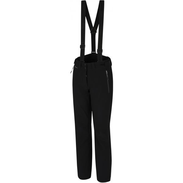 Černé softshellové dámské kalhoty Hannah