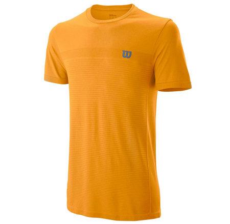 Oranžové pánské tričko s krátkým rukávem Wilson