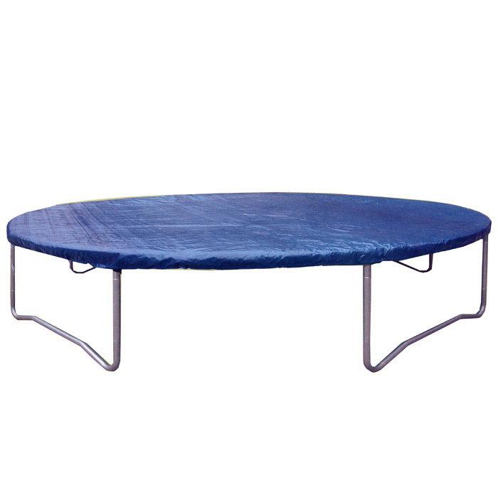 Modrá kruhová krycí plachta na trampolínu inSPORTline
