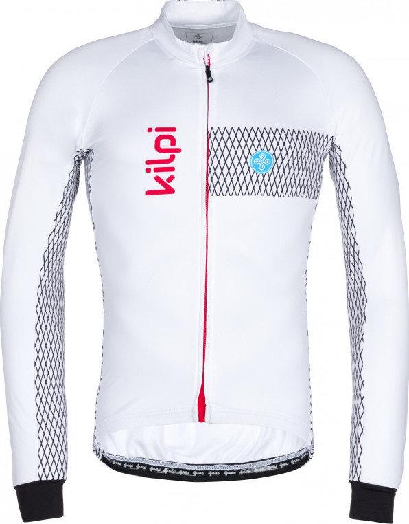 Bílý pánský cyklistický dres Kilpi