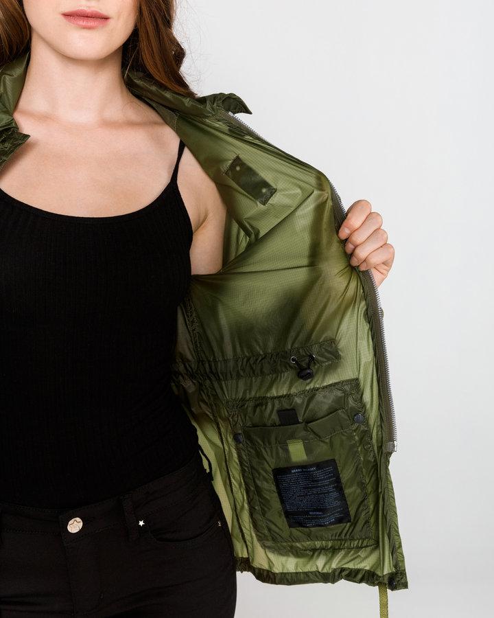Zelená dámská bunda Blauer - velikost XS