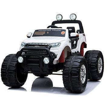 Bílé dětské elektrické autíčko Ford Ranger Monster, Beneo