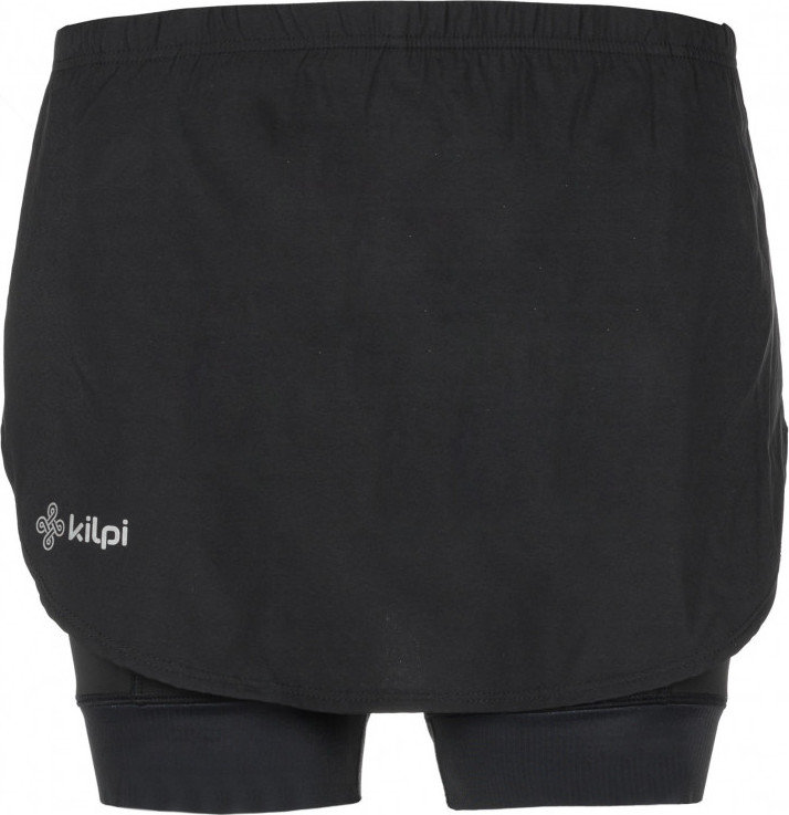 Černá dámská sukně s vložkou Kilpi - velikost 36
