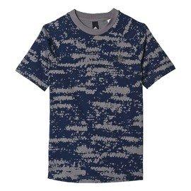 Modré dětské chlapecké tričko Adidas