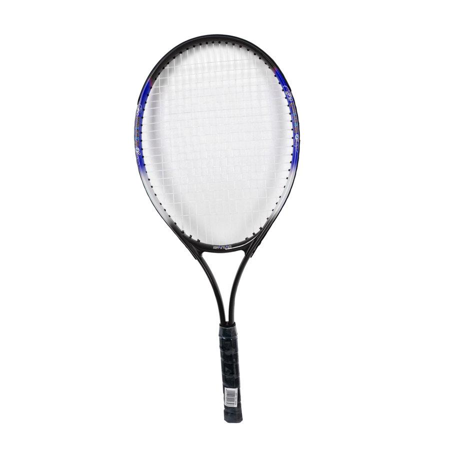 Černo-modrá dětská tenisová raketa Alu, Spartan