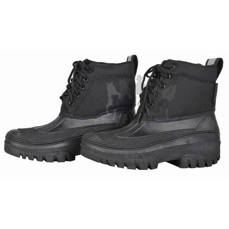Černé termo unisex jezdecké boty HKM