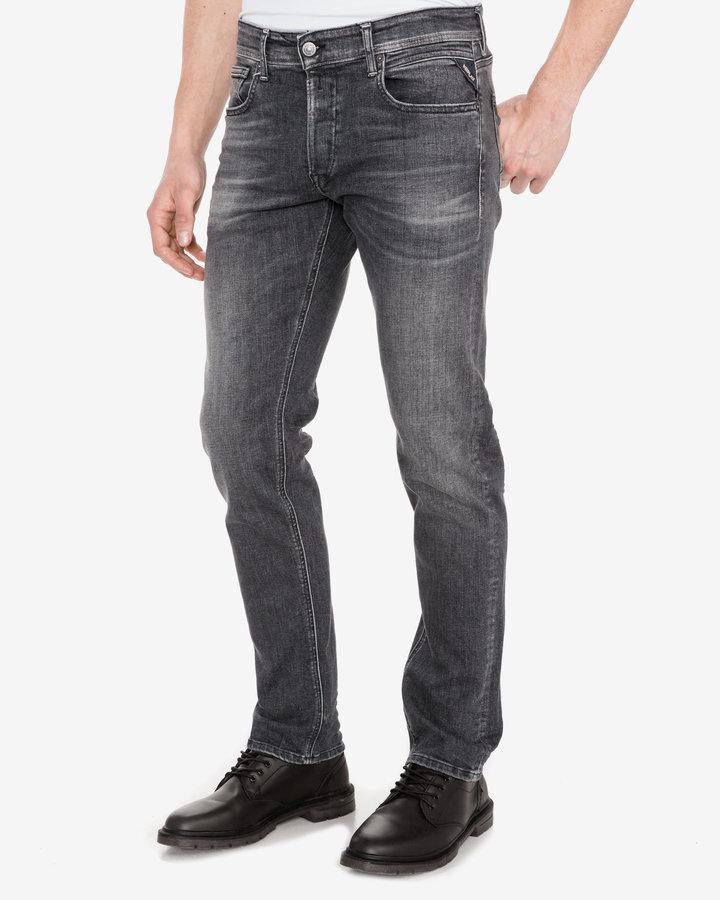 Šedé pánské džíny Replay - velikost 31