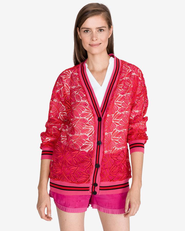 Červený dámský svetr Pinko - velikost M