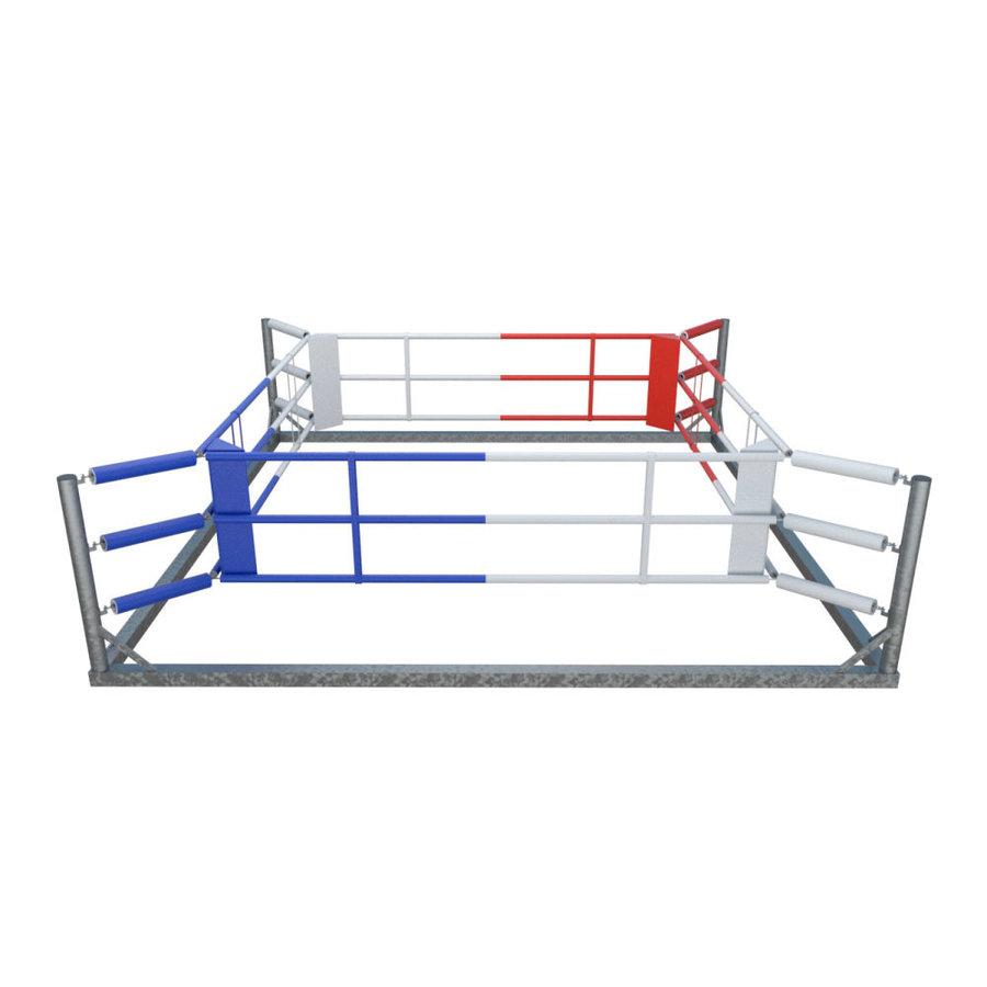 Boxerský ring Fighter - délka 580 cm, šířka 580 cm a výška 135 cm