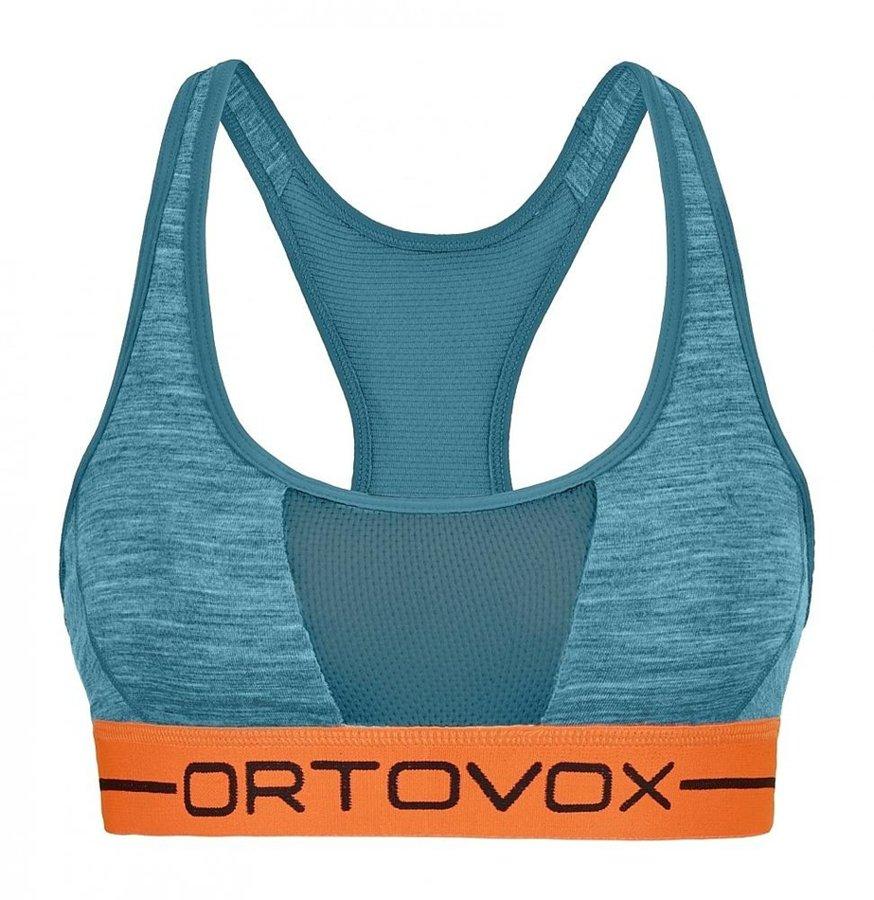 Modrá sportovní dámská podprsenka Ortovox - velikost S