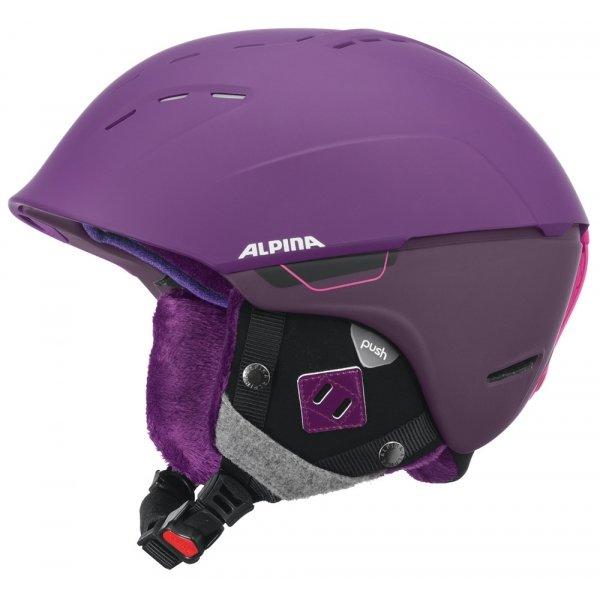 Fialová dámská lyžařská helma Alpina Sports - velikost 55-59 cm
