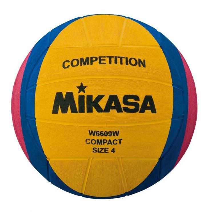 Různobarevný míč na vodní pólo pro ženy W6609W, Mikasa - velikost 4