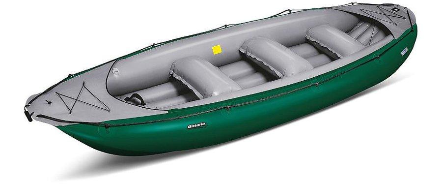 Zelený nafukovací raft pro 6 osob Ontario, Gumotex